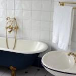 Blå Badrummet - Blue Bathroom