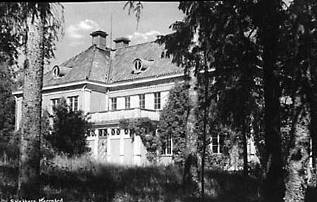 Salsåker Herrgård i början av 1900-talet